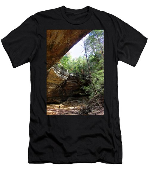 Ash Cave Of The Hocking Hills Men's T-Shirt (Athletic Fit)