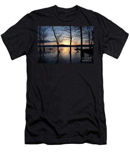 Ashokan Reservoir 43 Men's T-Shirt (Athletic Fit)