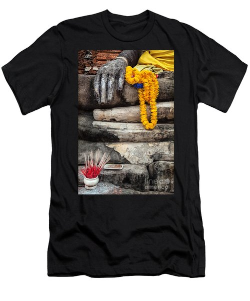Asian Buddhism Men's T-Shirt (Athletic Fit)