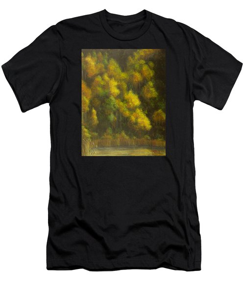 Aspens And Cattails Men's T-Shirt (Athletic Fit)