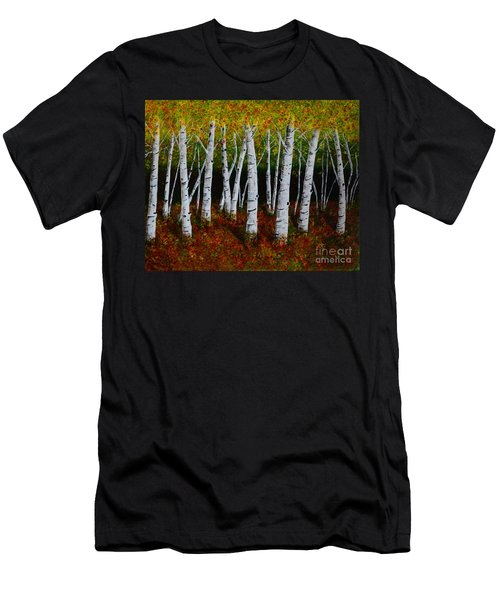 Aspens In Fall 2 Men's T-Shirt (Athletic Fit)