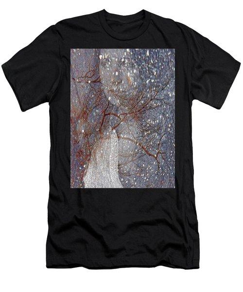 Asphalt - Portrait Of A Lady Men's T-Shirt (Athletic Fit)