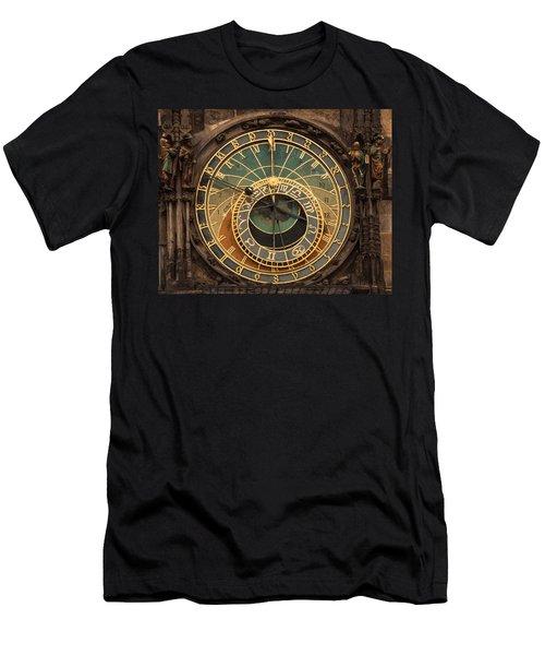 Astronomical Clock Men's T-Shirt (Athletic Fit)