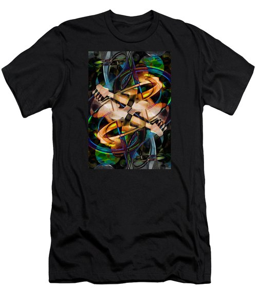 Asturias In G Minor Abstract Men's T-Shirt (Athletic Fit)