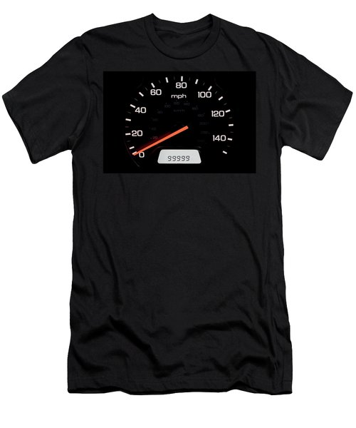 Men's T-Shirt (Slim Fit) featuring the photograph At A Milestone by Andrew Soundarajan