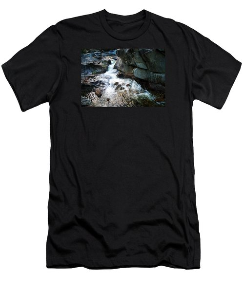 Men's T-Shirt (Slim Fit) featuring the photograph At Coos Canyon by Joy Nichols