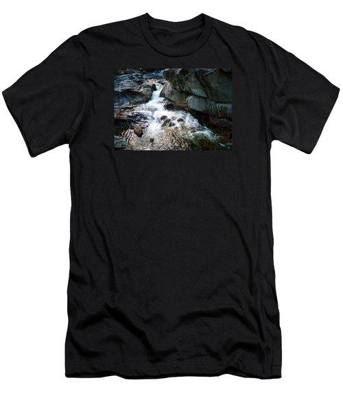 At Coos Canyon Men's T-Shirt (Slim Fit) by Joy Nichols