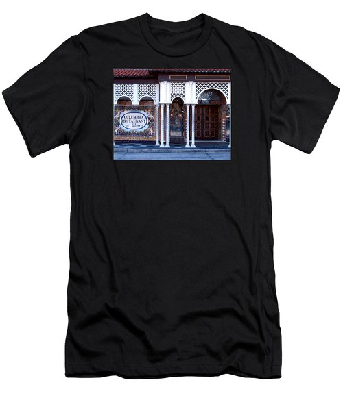At The Entrance Men's T-Shirt (Slim Fit) by Judy Wanamaker