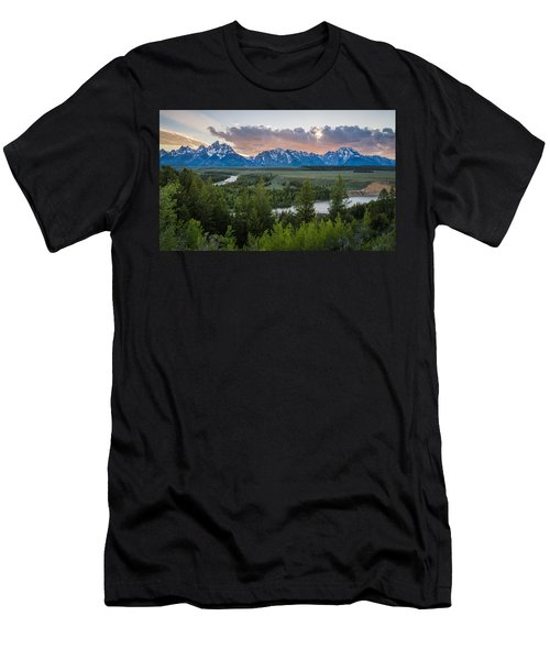 At The Snake Men's T-Shirt (Athletic Fit)