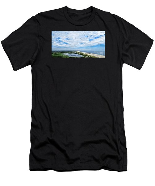 At The Top Of The Lighthouse Men's T-Shirt (Athletic Fit)