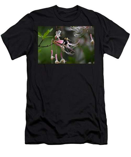 Men's T-Shirt (Slim Fit) featuring the photograph At Work by Tara Potts