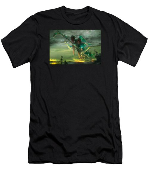 Athreos God Of Passage Men's T-Shirt (Athletic Fit)