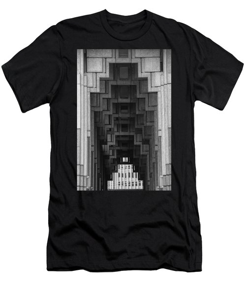 Atlanta Ga Architecture-city Building Men's T-Shirt (Slim Fit) by Douglas Barnard