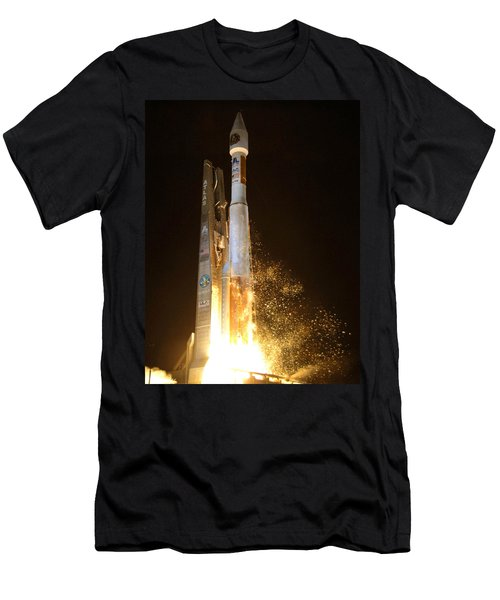 Men's T-Shirt (Slim Fit) featuring the photograph Atlas V Rocket Taking Off by Science Source