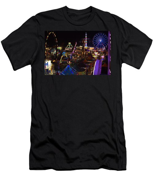 Men's T-Shirt (Athletic Fit) featuring the photograph Atop The Carnival by Tyson Kinnison