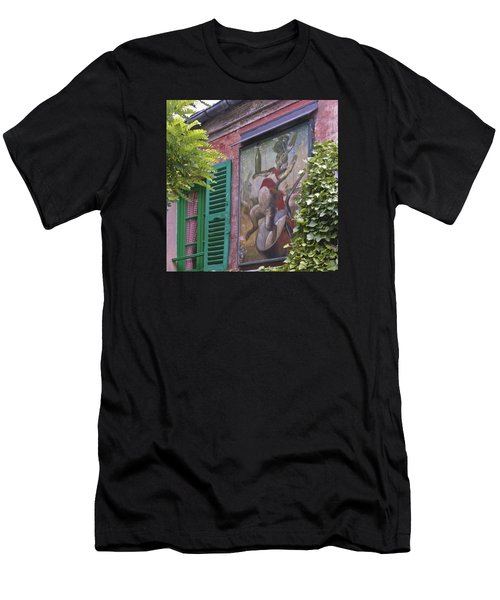 Au Lapin Agile Men's T-Shirt (Athletic Fit)