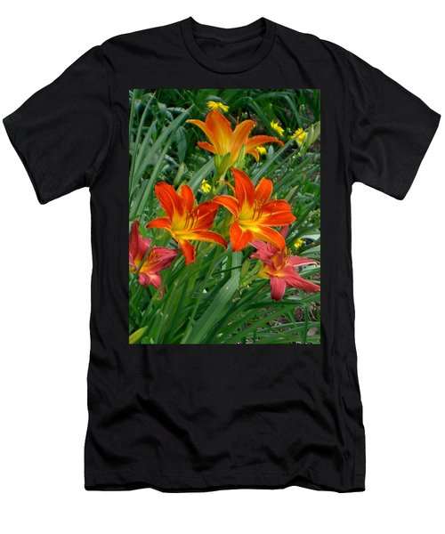 Lilies Galore Men's T-Shirt (Athletic Fit)