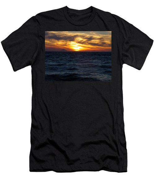 Men's T-Shirt (Slim Fit) featuring the photograph Augustine Sleeps by Jeremy Rhoades