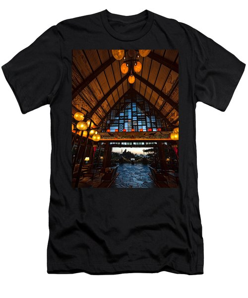 Aulani Lobby Men's T-Shirt (Athletic Fit)