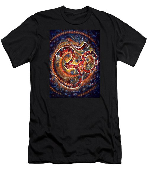 AUM Men's T-Shirt (Slim Fit) by Harsh Malik