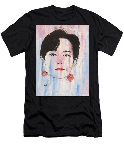 Aung San Suu Kyi Men's T-Shirt (Athletic Fit)