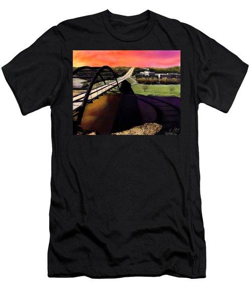 Austin 360 Bridge Men's T-Shirt (Athletic Fit)
