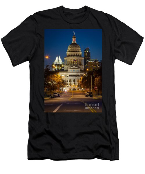 Austin Congress Avenue Men's T-Shirt (Athletic Fit)