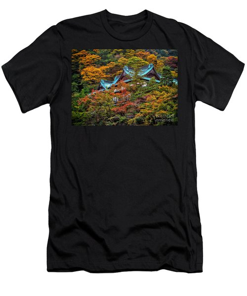 Autum In Japan Men's T-Shirt (Athletic Fit)