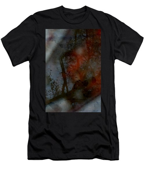 Men's T-Shirt (Slim Fit) featuring the photograph Autumn Abstract by Photographic Arts And Design Studio