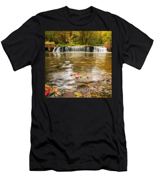 Autumn At Valley Creek Men's T-Shirt (Athletic Fit)