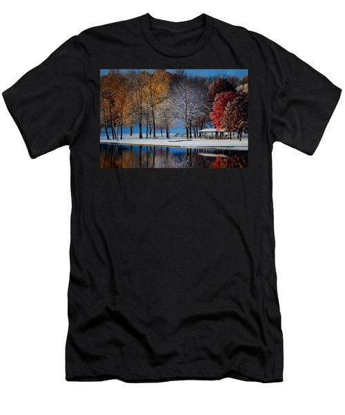 Autumn Blues Men's T-Shirt (Athletic Fit)