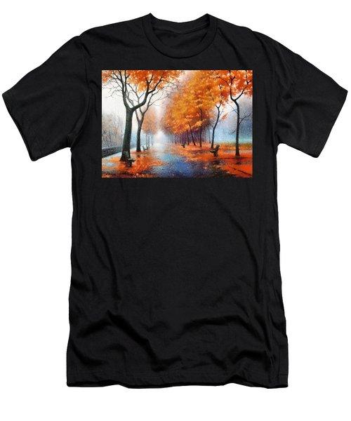 Autumn Boulevard Men's T-Shirt (Athletic Fit)
