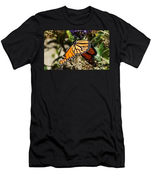 Autumn Butterfly Men's T-Shirt (Athletic Fit)