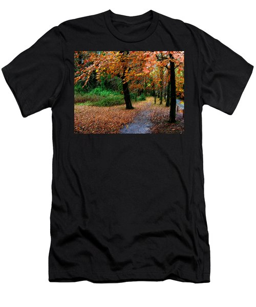 Autumn Entrance To Muckross House Killarney Men's T-Shirt (Athletic Fit)