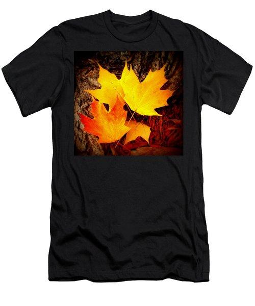 Autumn Fire Men's T-Shirt (Athletic Fit)