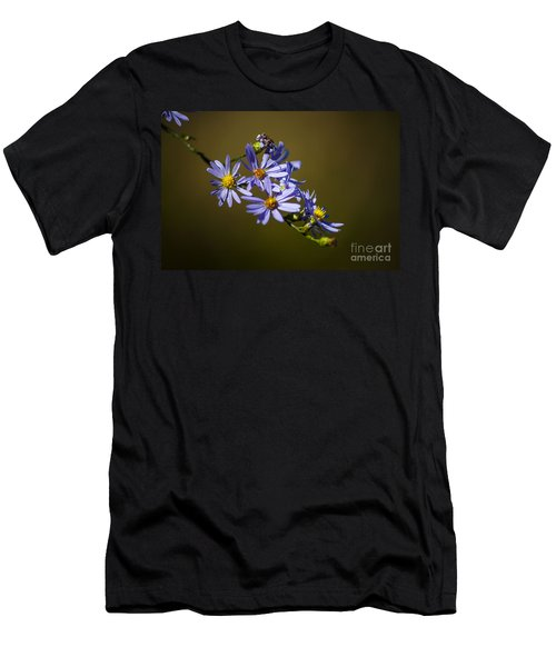 Autumn Floral Men's T-Shirt (Athletic Fit)