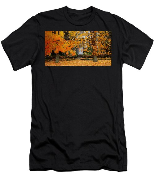 Autumn Homecoming Men's T-Shirt (Athletic Fit)