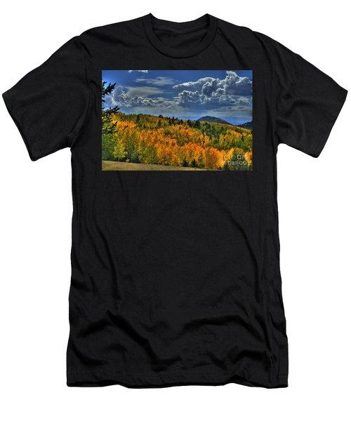 Autumn In Colorado Men's T-Shirt (Athletic Fit)