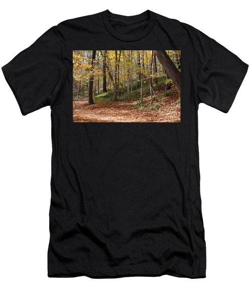 Autumn In Grant Park 4 Men's T-Shirt (Athletic Fit)