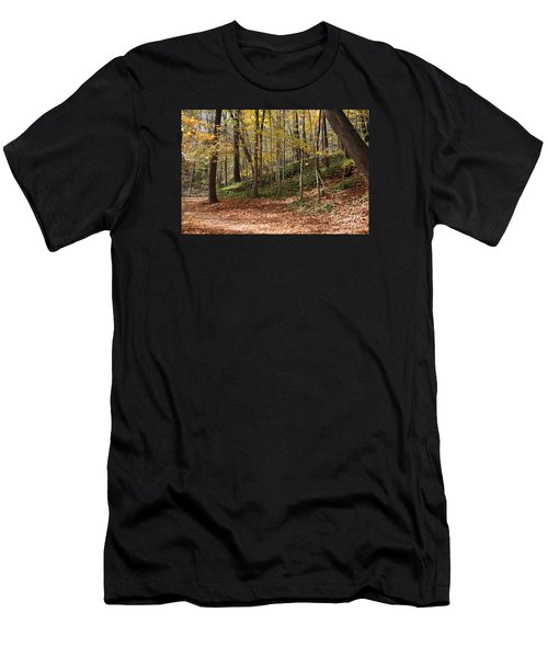 Autumn In Grant Park 4 Men's T-Shirt (Athletic Fit)