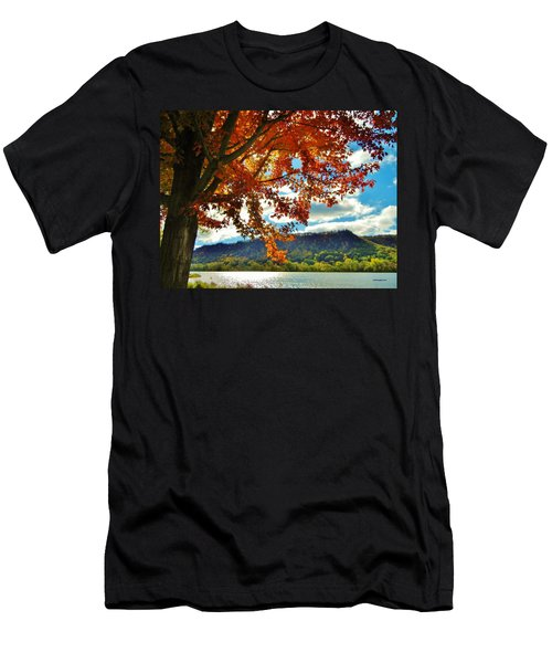 Autumn In Minnesota Men's T-Shirt (Athletic Fit)