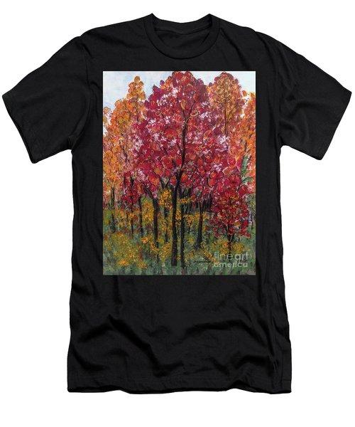Autumn In Nashville Men's T-Shirt (Athletic Fit)