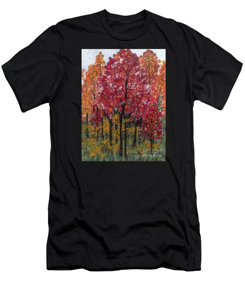 Autumn In Nashville Men's T-Shirt (Athletic Fit)