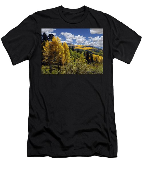 Autumn In New Mexico Men's T-Shirt (Athletic Fit)
