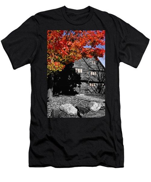 Autumn In Salem Men's T-Shirt (Slim Fit) by Jeff Folger
