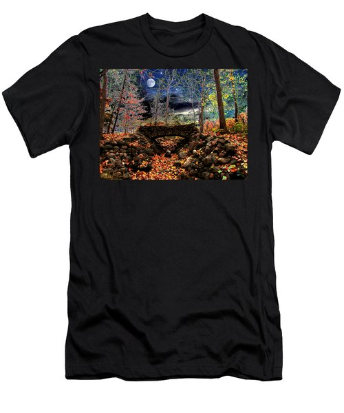 Autumn In The Meadow Men's T-Shirt (Slim Fit) by Michael Rucker