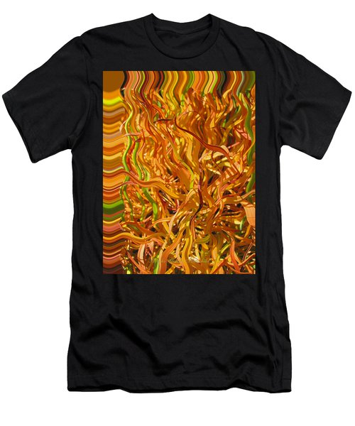 Autumn Leaves 5 - Abstract Photography - Manipulate Images Men's T-Shirt (Athletic Fit)