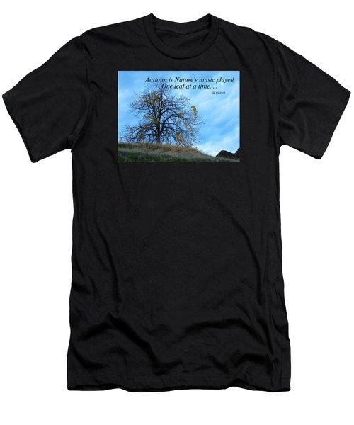 Autumn Music Men's T-Shirt (Athletic Fit)