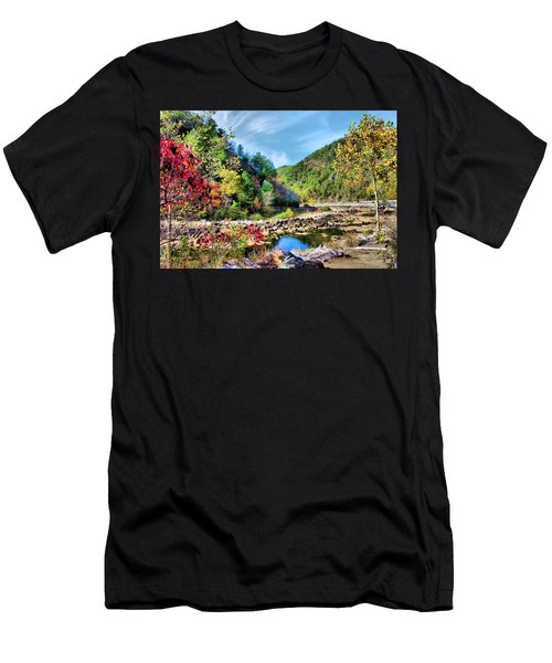 Autumn On The Ocoee Men's T-Shirt (Athletic Fit)