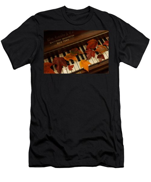 Autumn Piano 14 Men's T-Shirt (Athletic Fit)